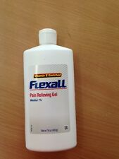 FLEXALL pain relieving gel 453g@ $40 EACH -new packaging exp 3/2020