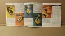 1972 Ski-Doo Tnt Elan Valmon Alpine Olympique Nordic Snowmobile Pocket Brochure