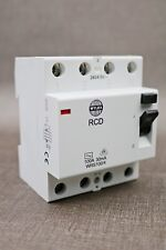 Wylex 100A 30mA 4 Pole RCD Breaker 240/415V WRS100/4 (G44)