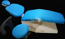 Dental Unit Cover Cloth Dentist Chair Protector Sleeves Washable Sky Blue Color