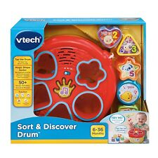 Vtech - Sort and Discover Drum - Brand New