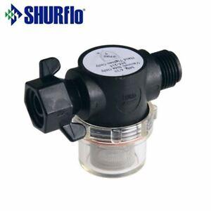 """Genuine Shurflo Filter / In-Line Water Filter 1/2"""" Bsp - Wing Nut (255-215)"""