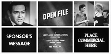 16mm Film: OPEN FILE (1960's TV show) UNAIRED PILOT - Kodak Orig - SIMON OAKLAND