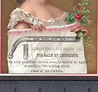 Zone Tooth Ache Pencil Medical Pain Dental Teeth Device Ad Victorian Trade Card