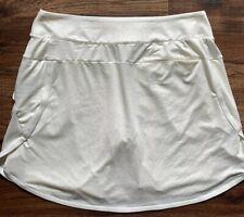 Nike Size XXL Dri-FIT Women's Printed Golf Skirt, Style AV3714-133, White,