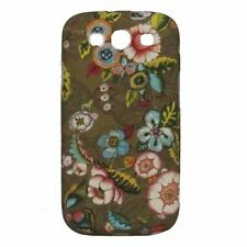 Oilily French Flowers samsung galaxy siii, funda marrón NUEVO
