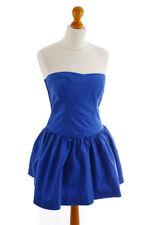 Hollister Point Loma Corsages Robe Bleu Coton Robe D'Été Court Robe 36 38