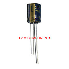 100uf 35v condensateurs électrolytiques à faible ESR 105' C Panasonic, boîte de 20: 2,5,10 ou