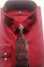 Shirt & tie mens new size 2XL neck 18-18.5 sleeve length 34/35 The Perfect Match