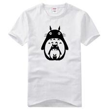 Anime Cute Totoro Cotton T-Shirts Short Sleeves Basic Tee Crew Neck Summer Tops