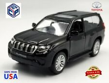 CAIPO 2019 Toyota Land Cruiser, Prado SUV Diecast Metal Model Car Black 1:42