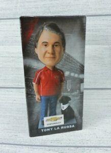 "Arizona Diamondbacks Tony La Russa Bobblehead Coach 6"" Figurine with Black Lab"