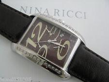 Nina Ricci watch Swiss Quartz N011.65.83.68 New