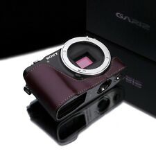 GARIZ leather case Sony NEX3N NEX 3N XS-CHNEX3NBR Brown