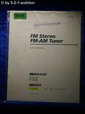 Sony Bedienungsanleitung ST SE300 /SE500 /SE700 FM/AM Tuner (#2015)
