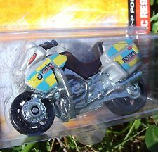 POLICE Motorcycle BMW R-1200 RT-P SILVER MBX Heroic Rescue NEW in Blister Pack!