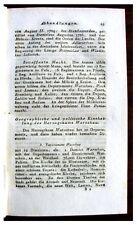 1812 Poland - DUCHY OF WARSAW - Ten Departments - DE