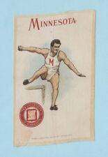 c1910s S22 Murad Cigarettes tobacco college silk University of Minnesota Hurdles