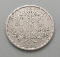 BOLIVIA 10 CENTAVOS 1899    #fp 171