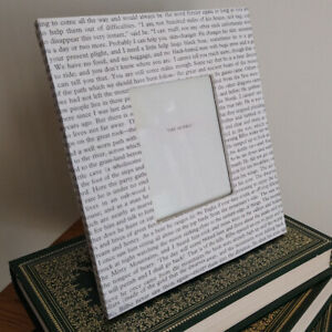 Photo Frame THE HOBBIT Decoupage Book Pages Book Lover Literary Gift TOLKIEN