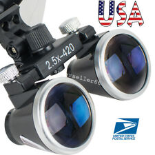 Latest Dental Dentist Students Surgical Medical Binocular Loupes 2.5X 420mm lens