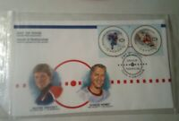 Canada stamps FDC 2000 50th NHL All Star Game~3 FIRST DAY COVERS~IN PACKAGING