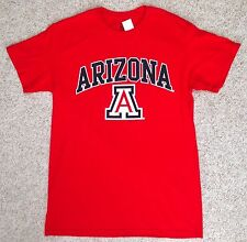 MADE USA New ARIZONA WILDCATS T-SHIRT Red 100%Cotton A-logo Men/Unisex ADULT MED