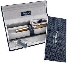 Montegrappa Piccola ISPKC3AI Beige Resin & Platinum Plated Medium Fountain Pen