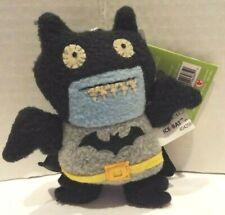Uglydoll Ice-Bat as Batman Plush Keychain 2014 By Gund NIP Sealed