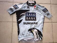 Maillot aéro SAXO BANK Cyclisme Velo  maillot  TEAM CONTADOR TOUR DE FRANCE