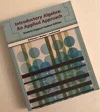 Introductory Algebra An Applied Approach by Aufmann (VG)