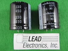 QTY3 SPRAGUE TVA1700 1UF 450-VOLT AXIAL LEADS NEW PARTS