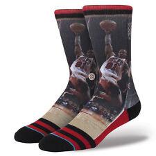 Stance NBA Legends  Basketball Socks Chicago Bulls Dennis Rodman Adult Mens L-XL