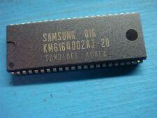 (1) SAMSUNG KM6164002AJ-20 4 MEG 256Kx16 SRAM MEMORY CMOS 5V 20NS 44 PIN SOJ