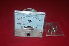 1 × AC100mA Analog Panel APM Courant Meter Ampèremètre Gauge 85L1 AC0-100mA