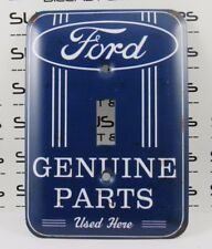 FORD MUSTANG Genuine Parts Single Light Switch Wall Plate Cover Man Cave Garage