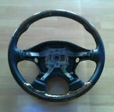 NEU ORIGINAL JAGUAR S-Type CCX HOLZ LEDER LENKRAD STEERING WHEEL LEATHER