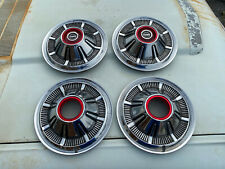 """1966 1977 Ford Bronco F100 4x4 4wd 15"""" Hubcaps Set 68 69 70 71 72 73 74 75 76 78"""