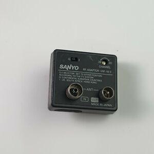 (OLD STOCK) LIKE NEW Sanyo RF Adaptor VRF-18 E Made In Japan