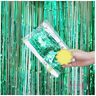 Birthday Party  Foil Tinsel Fringe Curtain Doorway Hanging Decoration