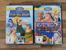 Ein Königreich für ein Lama 1 und 2 Walt Disney Kinderfilm Set DVDs