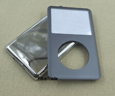 Gray Front Faceplate Lens Back Housing Case Cover for iPod 6th Classic 120GB