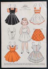 1954, Sunny Mag. Paper Dolls, Wee Wisdom Mag.,Dorothy Wagstaff Artist