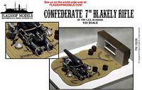 "Flagship Models Confederate 7"" Blakely Rifle (Base 9""x 6.75"")"