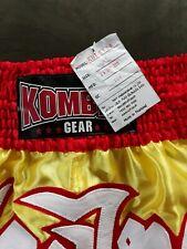 Kombat Gear Muay Thai Shorts Xl Satin Fabric Kbt-S109