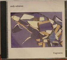 Andy Salvanos  Fragments  LIKE NEW  CD 2007 10 String Chapman Stick Tony Levin