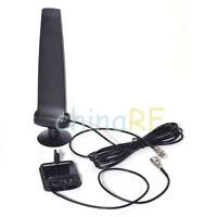 GSM/CDMA/850-1900MHz 3G 4G Cellphone Signal Booster Amplifier Aerial 2m + Holder