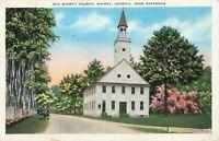 Postcard Old Midway Church Georgia