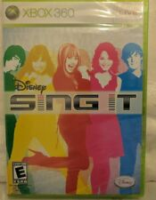 XBox 360 Sing It Disney Game Live Factory Sealed New 2008 X Box House Party