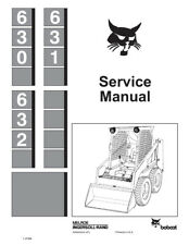 New Bobcat 630, 631, 632 Skid Steer Loaders 1987 rev Service Manual 6556454